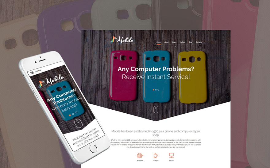 hone Repairs Joomla Template