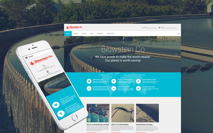 ental Water Systems Joomla Template