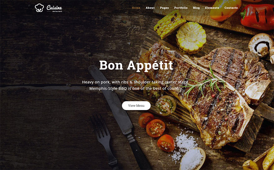 Top-Rated Food & Restaurants Joomla Templates