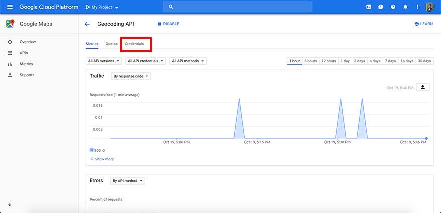 Securing Google Maps API key - Step 2
