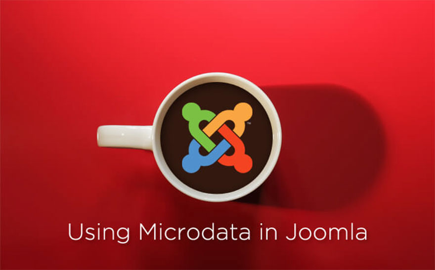 Using microdata in Joomla