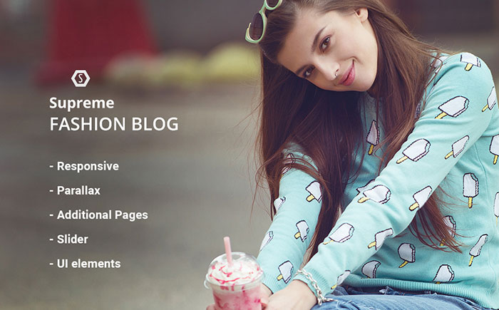 Fashion & Style Blog Responsive Joomla Template