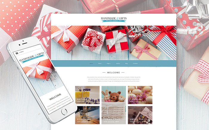 Special Gifts & Presents Cross-Browser Joomla Template