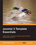 Joomla 3 template essentials book cover