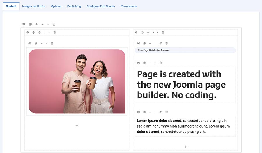 Sparky page builder
