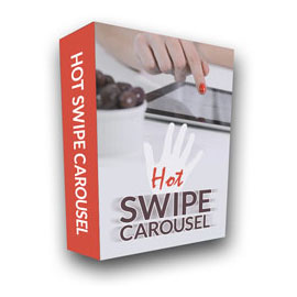 Hot Swipe Carousel - Touch Friendly Carousel