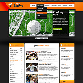 Joomla Betting Template