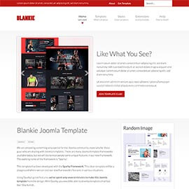 Clean Joomla Template