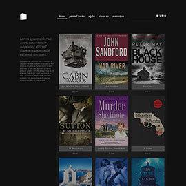 Joomla Bookstore Template