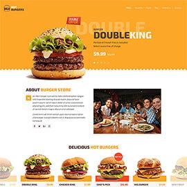 Joomla Burgers Template