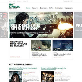 Cinema Joomla Template