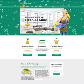Joomla Cleaning Template
