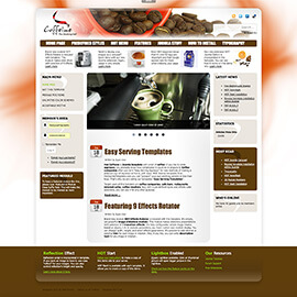 Joomla Cafe Template