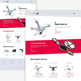 Drones template