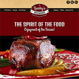 Food Spirit Template for Restaurants