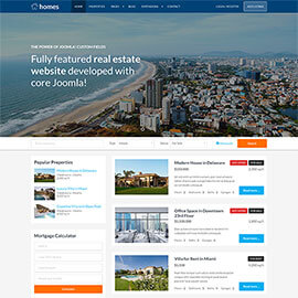 Real Estate Template - Homes