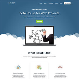 Joomla Hosting Template