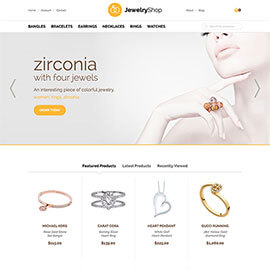 Joomla Jewelry Template