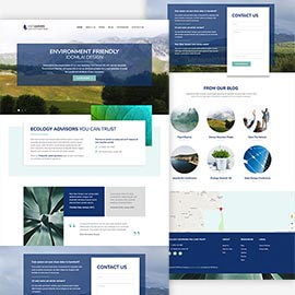 Ecology Joomla Template