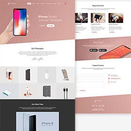 Joomla iPhone Template