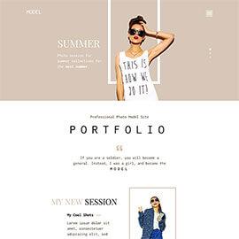 Model Portfolio Template