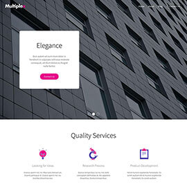 Multipurpose Joomla template - Multiplex