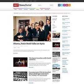News Portal Template