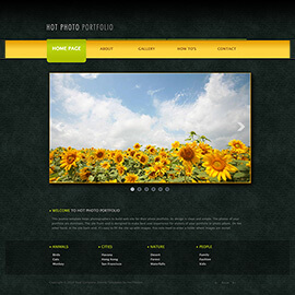 Joomla Photo Portfolio Template