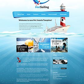 Joomla Sailing Template