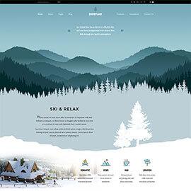 Joomla Ski Template