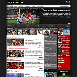 Joomla Sports Template
