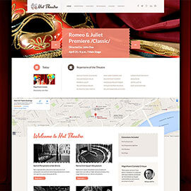 Joomla Theatre Template