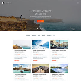 Travels template