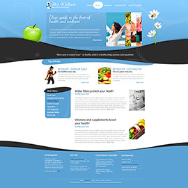 Joomla Wellness Template