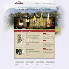 Joomla Wine Template