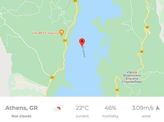 Google maps module