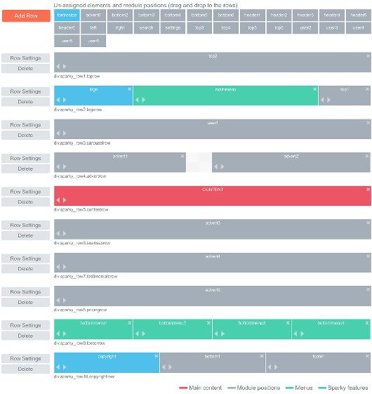 Sparky Template Framework