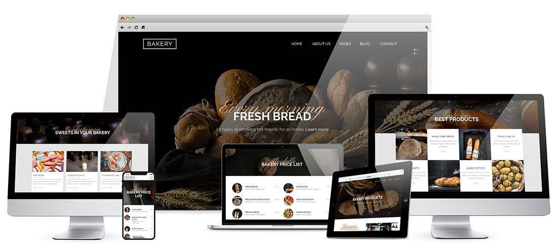 Responsive Bakery Template