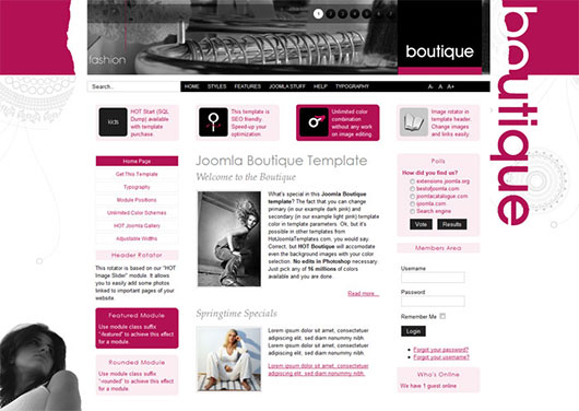 Boutique Template