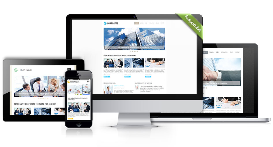 Responsive Joomla Corporate Template
