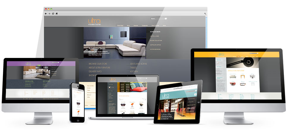 Responsive Joomla Furniture template