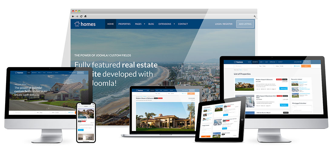 Responsive Real Estate Template