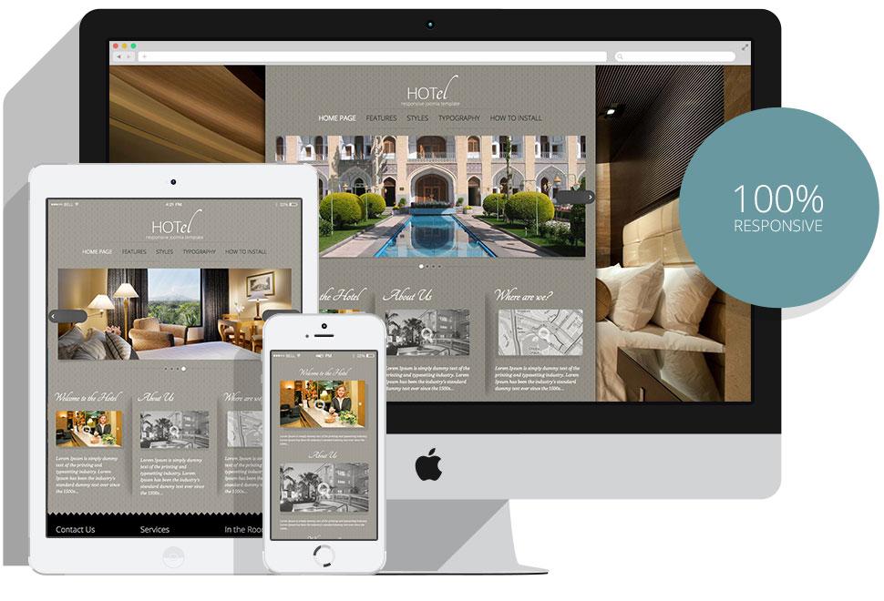 Joomla HOTel Template - HotThemes