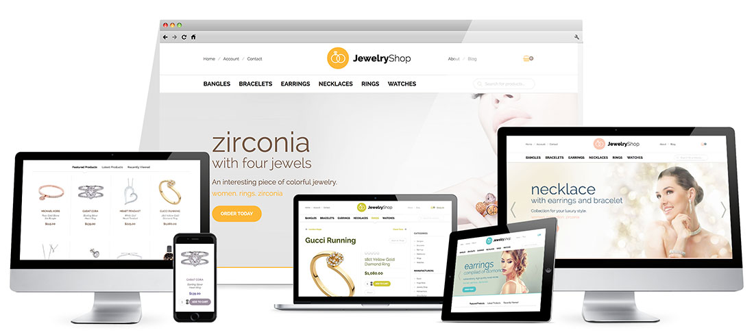 Responsive Jewelry Template