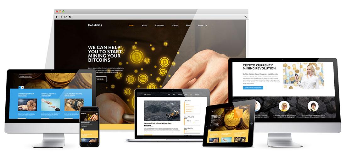Joomla Mining Template
