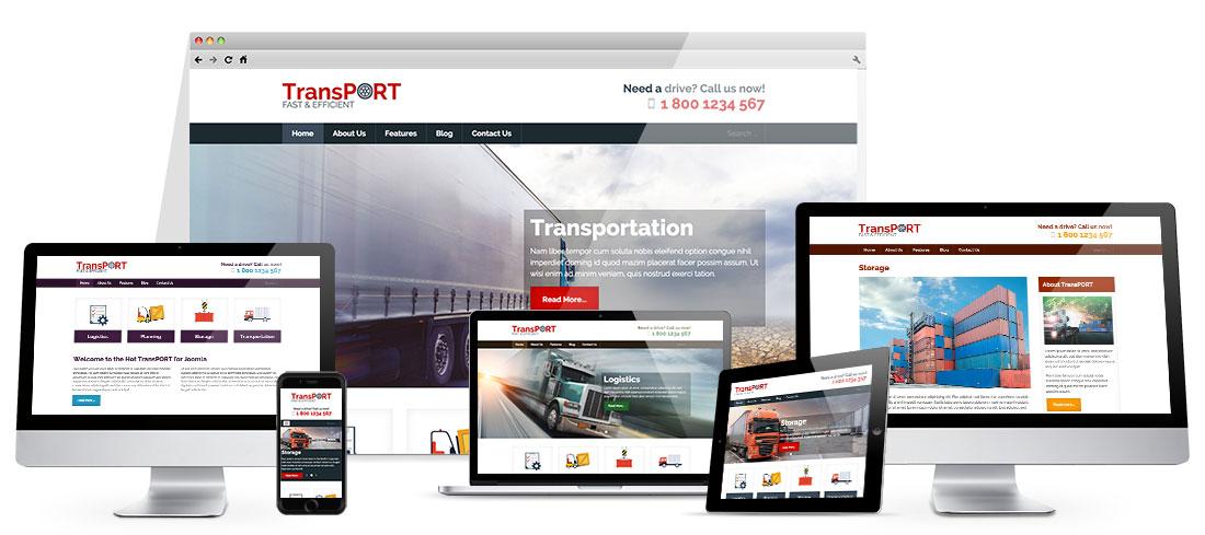 HotThemes Transport - Joomla Template