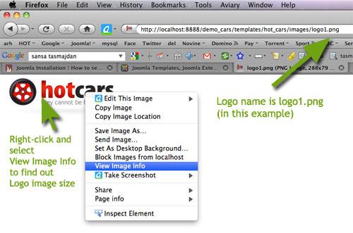 Change Joomla Template Logo with your Logo Image - HotThemes